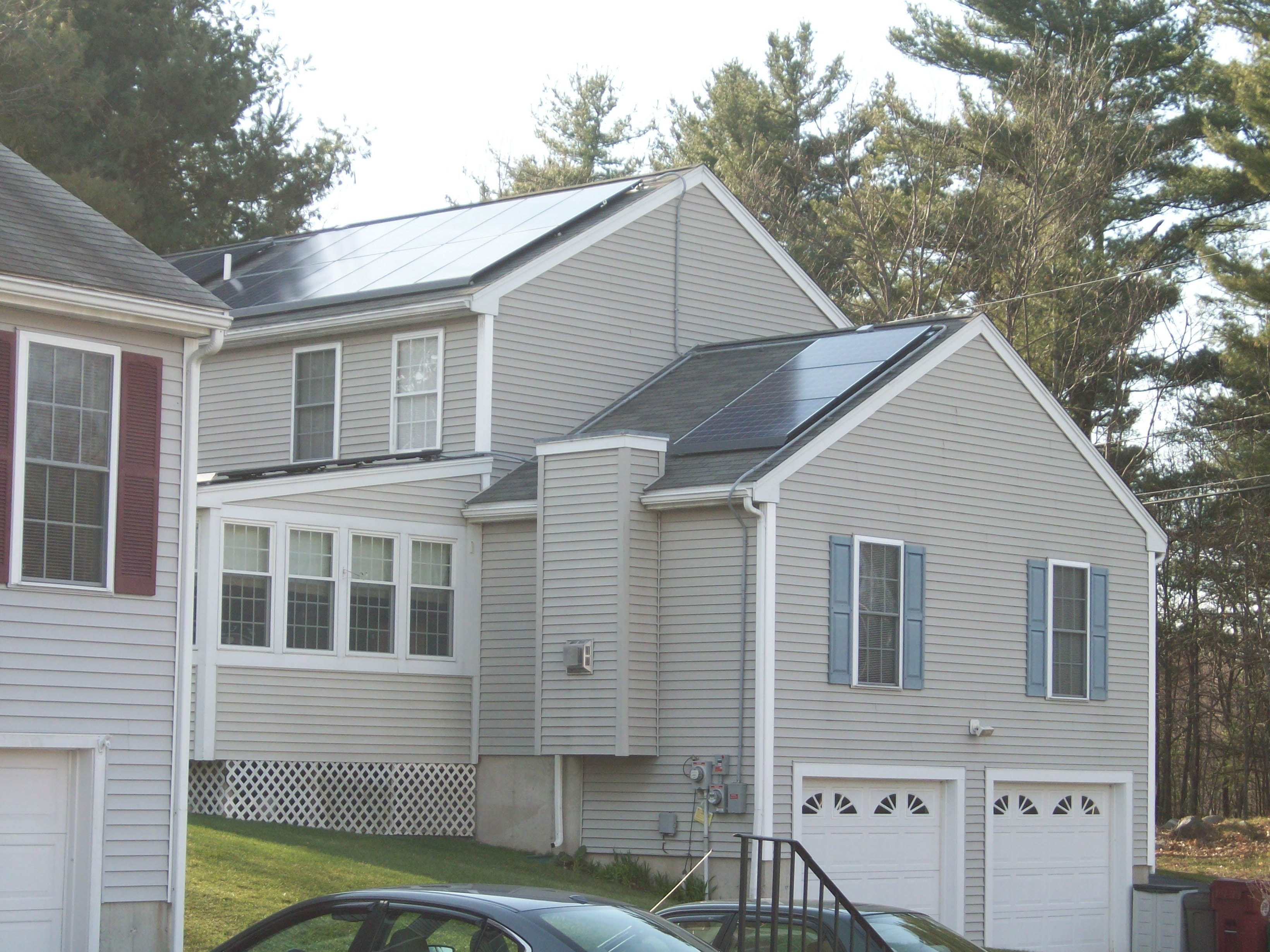 Good Bad And Ugly Solar Installations The Energy Miser Wiring House To Detached Garage Along With Electrical Diagram Lowell Spring 2013 2