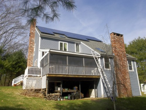 Solar Installation in New England
