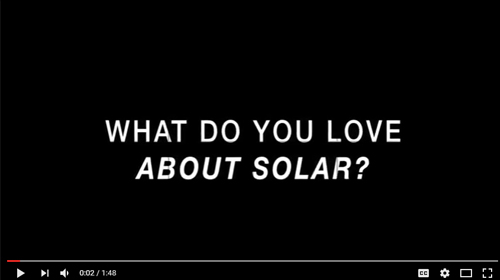 Why people love Solar