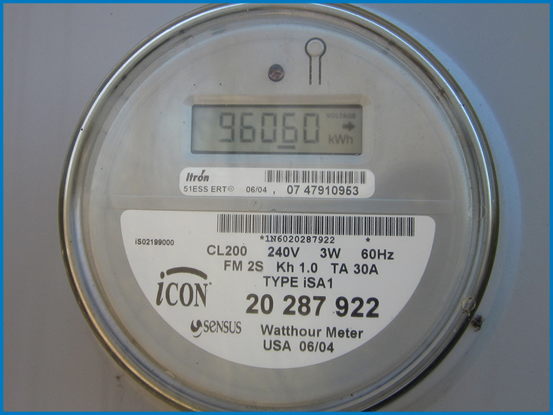 Secondary Electric Meter : Different types of utility meter for solar the energy miser