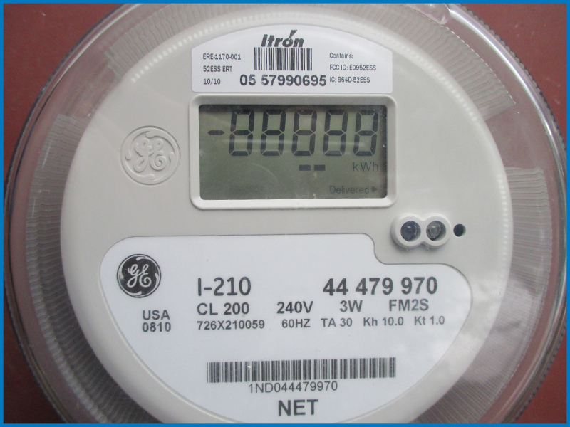 Traditional Power Meter : Different types of utility meter for solar the energy miser
