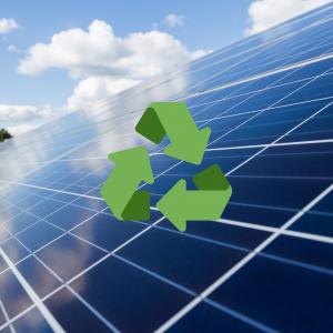 recycling solar panels