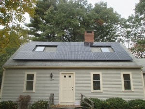 Residential Solar Installation Complete