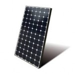 SunPower Solar Panel Tilted