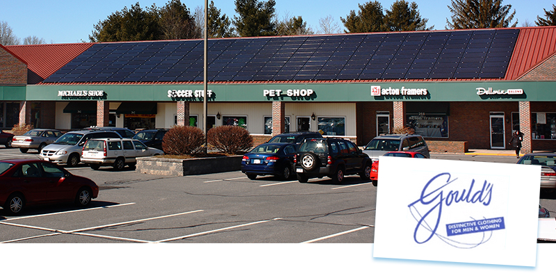 Solar panel credits Massachusetts. Goulds Case Study