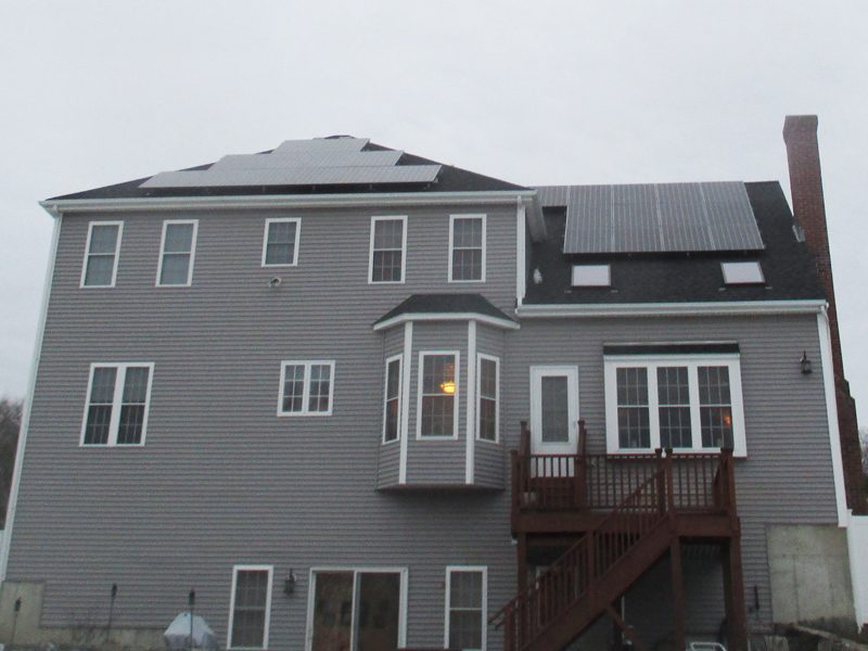 solar panel install - after