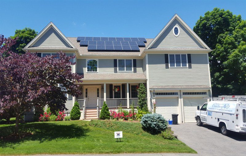 Efficient Solar Panel Installation in New England