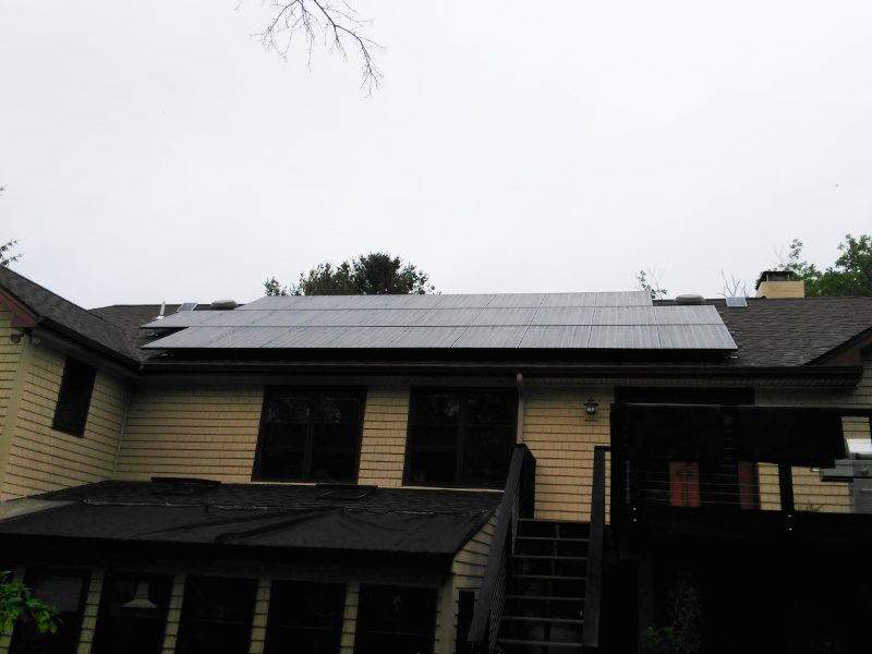 Residential Solar Panels Installed