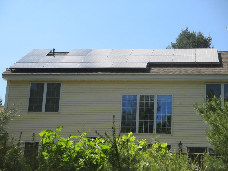 Solar Panels prevent utility rate hikes