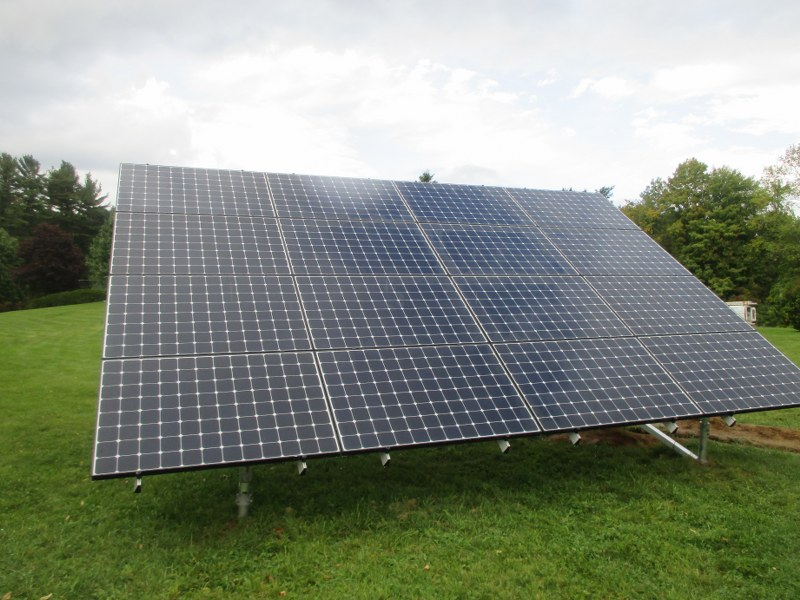 hubbardston solar ground mount