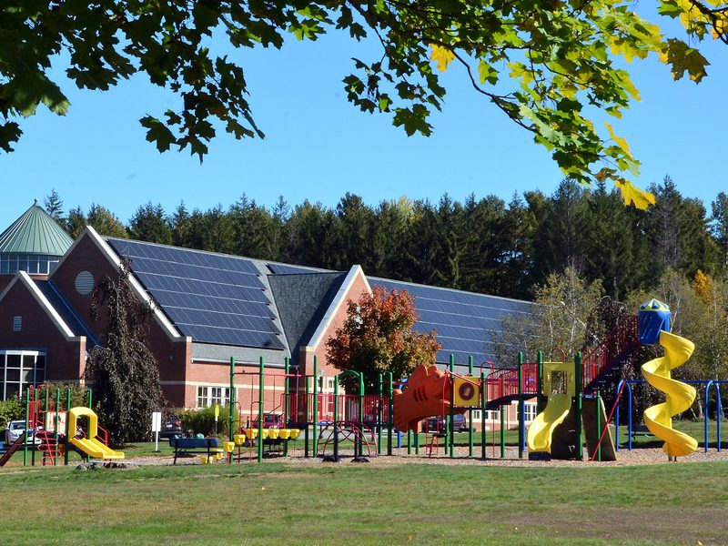 perkins solar with playground