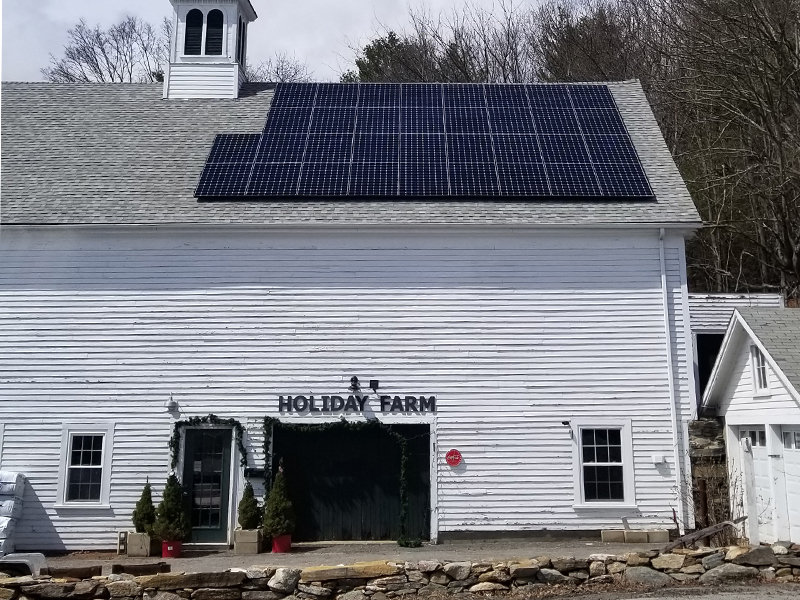 holiday farm solar berlin mass
