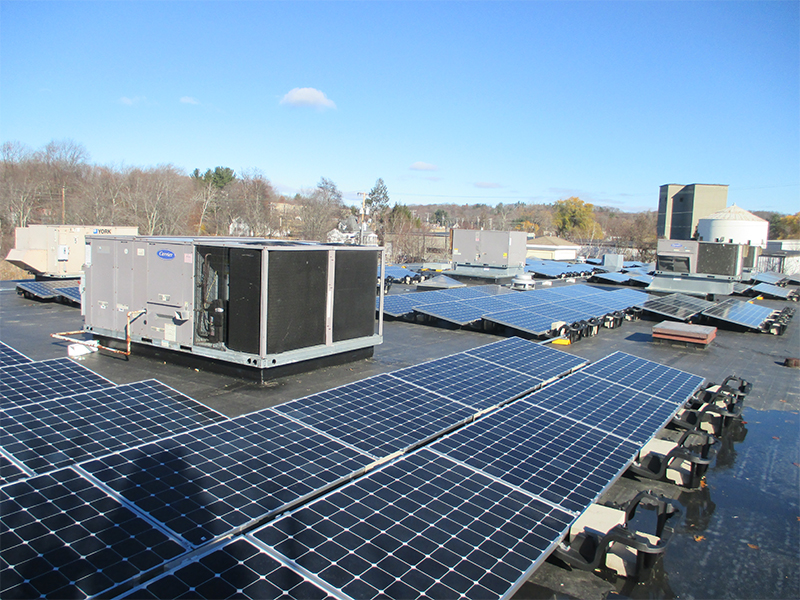 commercial rooftop solar marlborough mass