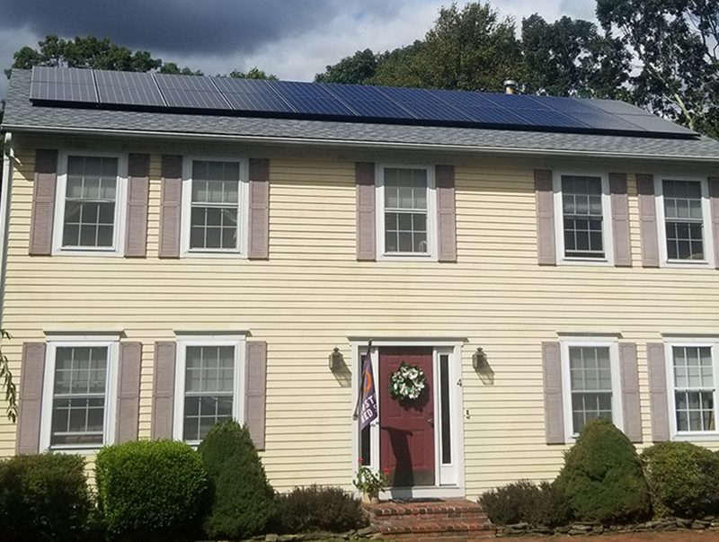 Residential solar, Westerly
